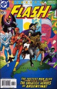 DC FLASH (1987 Series) Annual #13 NM