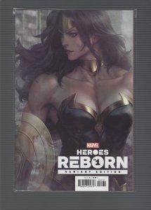 Heroes reborn #1 Variant