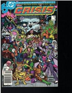 Crisis on Infinite Earths #9 (DC, 1985)