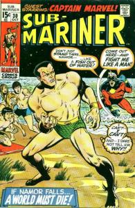Sub-Mariner, The (Vol. 2) #30 FN; Marvel   save on shipping - details inside
