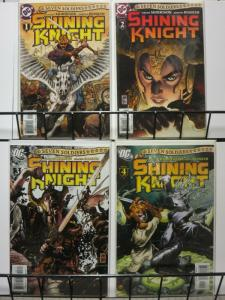 SEVEN SOLDIERS SHINING KNIGHT 1-4 Grant Morrison
