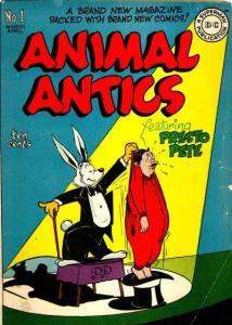 Animal Antics #1, Good+ (Stock photo)
