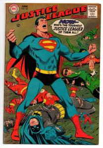 Justice League of America #63 (Jun 1968, DC) - Very Good+/Fine-
