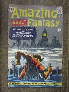 AMAZING ADULT FANTASY #13 (Marvel/Atlas,6/1962) FAIR (FR) Last (Ad) Page Missing