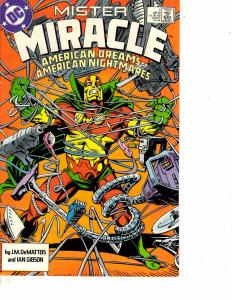 Lot Of 3 Comic Books DC Mister Miracle #1 15 and Special #1  WT10