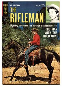 Rifleman #19 1963- Chuck Connors Gold Key Western VF+