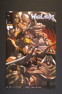 Warlands # 3 October 2001 Image Comics