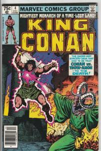 King Conan #4 (Dec-80) VF/NM High-Grade Conan the Barbarian