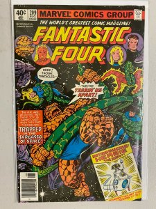 Fantastic Four #209 Newsstand 1st appearance of Herbie the Robot 4.0 VG (1979)