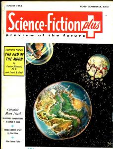 Science-Fiction+ #5 8/1953-Frank R Paul-Simak-Hasse-Moskowitz-FN