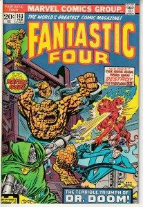 Fantastic Four(vol. 1) # 143 Dr. Doom, Darkoth the Dream Demon