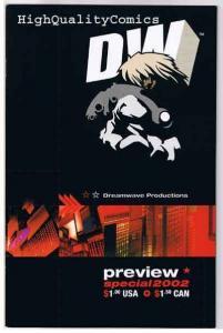 DREAMWAVE 2002 Preview, NM+, Transformers, Blade, Limbo