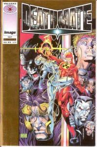 DEATHMATE (1993 IMAGE/VALIANT) PROLOGUE (GOLD CVR) VF+ COMICS BOOK