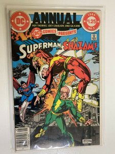 DC Comics Presents #3 Annual Newsstand 6.0 FN (1984) Superman & Shazam