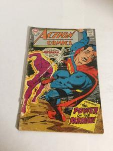 Action Comics 361 Gd- Good- 1.8 Second Parasite Silver Age