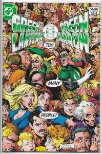 Green Lantern / Green Arrow   #3 VG (rep. 80/81)