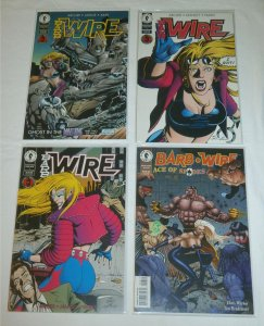 Barb Wire  vol. 1 #5-7, Ace of Spades #4 (set of 4) Arcudi