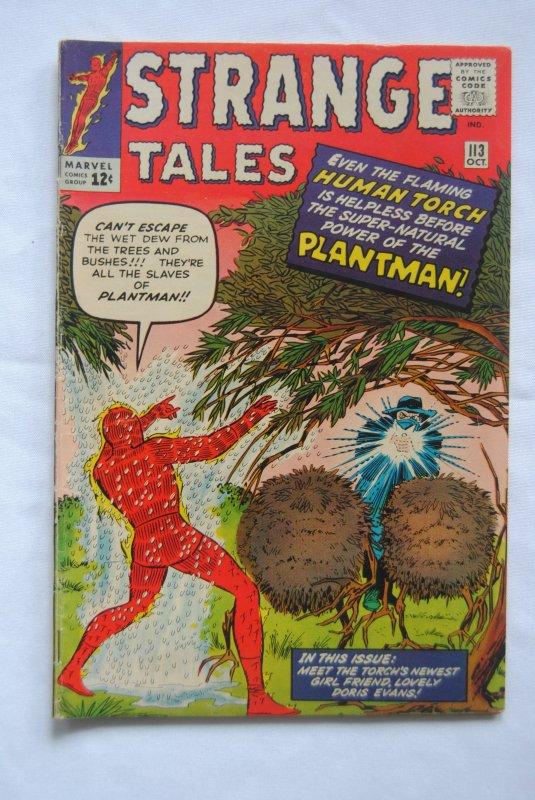 Strange Tales #113