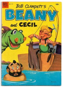 BEANY AND CECIL * Four Color #477 * 1953 • 36 Pgs of Great Jack Bradbury Art