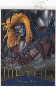 1995 Fleer Marvel Metal WOLVERINE #101  Card