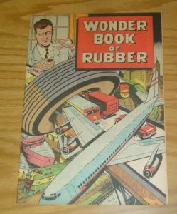 Wonder Book of Rubber #1 VF- b.f. goodrich educational comic