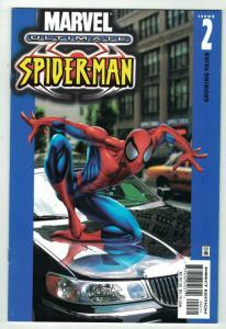ULTIMATE SPIDERMAN 2 VF+  Dec  2000 ultimate reboot
