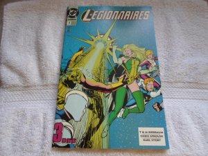 1993 DC COMICS  LEGIONNAIRES # 4