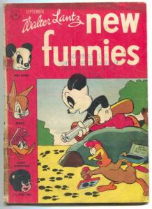 New Funnies #115 1946- Andy Panda- Woody Woodpecker G