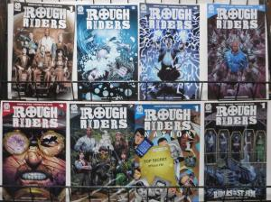ROUGH RIDERS COLLECTION (Aftershock, 2016) 8 books VF-NM! Gabe Eltaeb, Cipriano