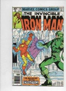 IRON MAN #136, VF+ Tony Stark, Endotherm, 1968 1980, more IM in store, Marvel