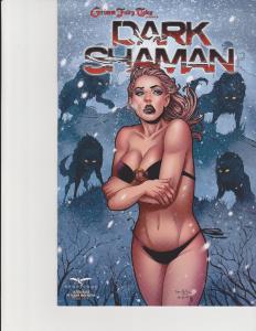 Dark Shaman #1 Cover D Ultra Rare Retailer Incentive Exclusive NM Qualano