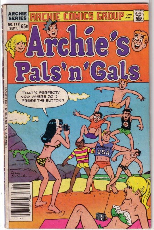 Archie's Pals 'n' Gals   #177 GD