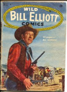Wild Bill Elliott #3 1950-Dell-B-Western film star-Red Ryder movie ad-G