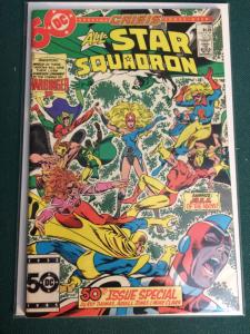 All-Star Squadron #50 Crisis crossover