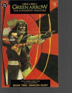 Green Arrow: Longbow Hunters #2  (DC, 1987) NM -