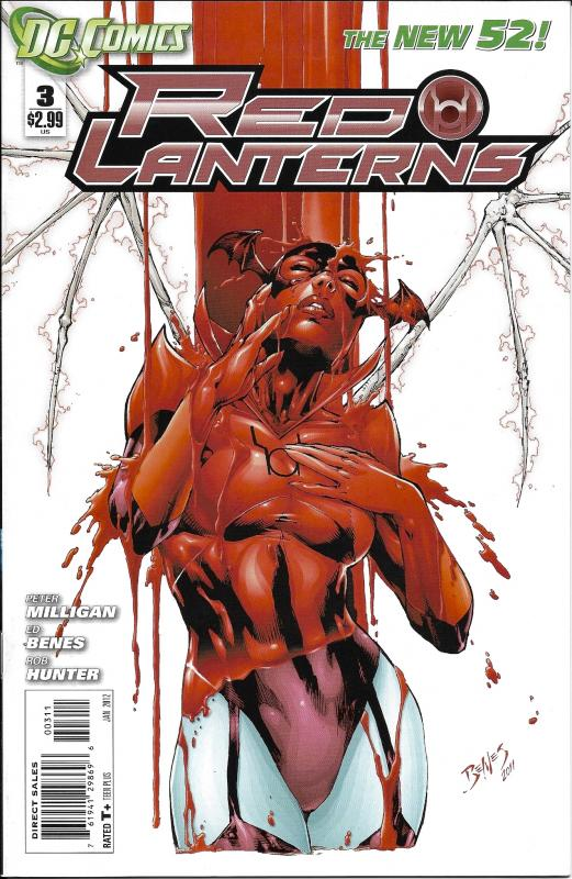 Red Lanterns The New 52 #3