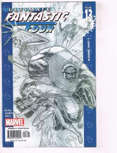 Lot of 5 Ultimate Fantastic Four Marvel Comic Books #13 14 15 16 17 BH28
