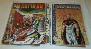 Supreme #2,4,5,9,28,42-45,47-52a,56,63, Return #1-3 Image/Awesome comics of 21