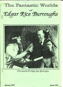 Fantastic Worlds of Edgar Rice Burroughs #42 1997-British-Elmo Lincoln-VF