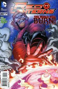 Red Lanterns #40 VF/NM; DC | save on shipping - details inside