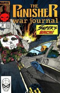 Punisher War Journal (1988 series) #10, NM- (Stock photo)