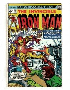 10 Iron Man Marvel Comics # 77 79 80 81 82 74 75 76 77 78 Tony Stark J451