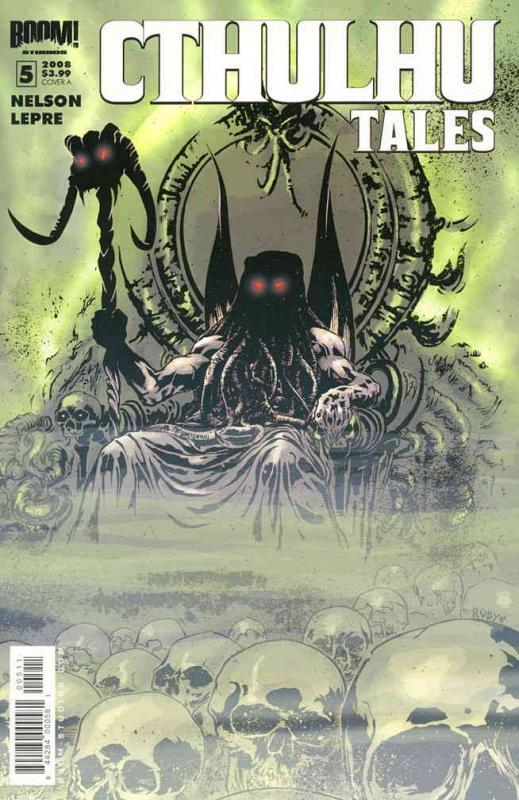 Cthulhu Tales (2nd Series) #5A VF/NM; Boom! | save on shipping - details inside