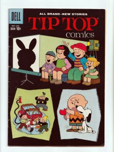 Tip Top Comics #219 Charlie Brown Peanuts Story Silver Age Dell Comics 1960 FN-