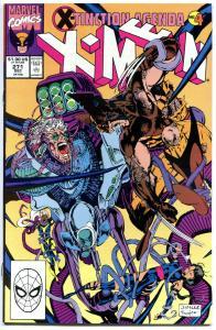 X-MEN 271, NM+ Wolverine, Chris Claremont, Jim Lee, Uncanny, X-Tinction Agenda