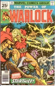 WARLOCK  (1972) 14 VF-NM STARLIN Aug. 1976 COMICS BOOK
