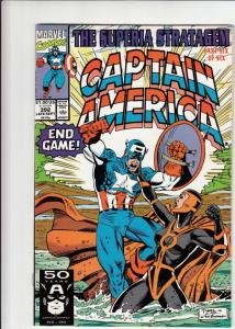 Captain America #392 (Aug-89) NM/MT Super-High-Grade Captain America