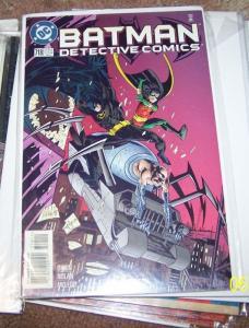 detective comics # 718  batman +ROBIN   GOTHAM GEARHEAD