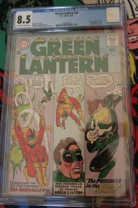 Green Lantern #35 (DC, 1965) CGC VF+ 8.5 Off-white to white pages