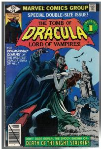 TOMB OF DRACULA 70 FN GIANT SIZE LAST ISSUE
